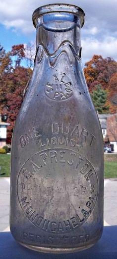 C.A. Preston Dairy Milk Bottle
