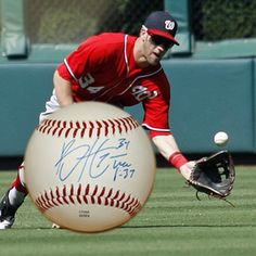 Bryce Harper Autographed Baseball (Currently plays for Washington Nationals): http://www.outbid.com/auctions/8893-greensboro-grasshoppers-charities-auction#3