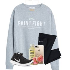 A fashion look from March 2018 featuring MANGO sweatshirts, NIKE sneakers and Kendra Scott necklaces. Browse and shop related looks.