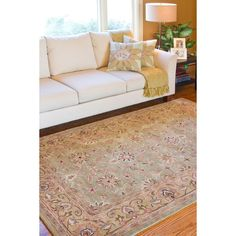 Hand-Tufted Camelot Collection Oriental Wool Rug (8' x 11') - Overstock™ Shopping - Great Deals on 7x9 - 10x14 Rugs