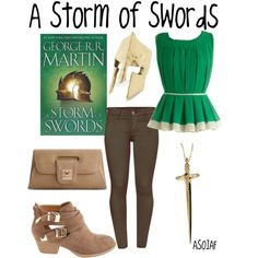 A Storm of Swords by evil-laugh on Polyvore featuring French Connection, Charlotte Russe, Urban Expressions, Rachel Roy and asoiaf