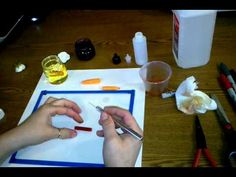 Making your own alcohol inks.  I've seen a few pins about just sticking a sharpie in the alcohol, but this one seems like the best method as far as getting as much out of the marker as possible.