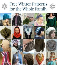 Winter Crochet Patterns - Making your own winter accessories is not only fun but a great way to add your own style to winter staples. Experiment with different fibers, play with different color combinations, and you can make a one of a kind accessory that you will look forward to wearing on the chilliest of winter days. I'm getting you started today with 20 stylish and free winter crochet patterns for the whole family. Click here to get the free patterns; you can either download them to your…