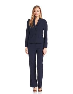 Save $71.63 on Anne Klein Women's 3 Button Peak Suit Jacket; only $57.37