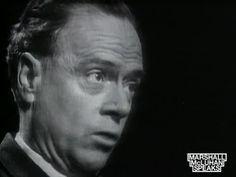 Marshall McLuhan Speaks CENTENNIAL 2011 Hot and cool media (1965)