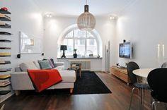 Pieni olohuone    http://www.sisustusblogi.fi/pienen-olohuoneen-sisustaminen/