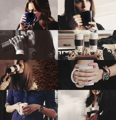 """""""Every morning I bring you a cup of coffee just so I can see a smile on your face..."""""""