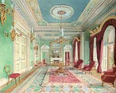 Those pastel colours are too much but very rococo...