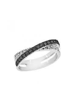 There's A New LBD — The Little Black Diamond Ring #refinery29  http://www.refinery29.com/martha-stewart-weddings/25#slide12