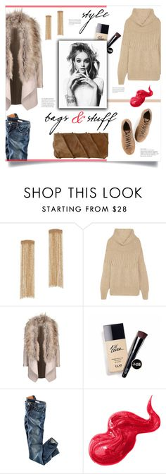"""""""Bags & Stuff"""" by mahafromkailash ❤ liked on Polyvore featuring Rosantica, Mes Demoiselles..., H&M and Bobbi Brown Cosmetics"""