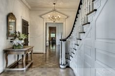 beautiful entry hall