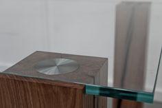 Ancient oak legs with tempered glass table http://wwwhttp://www.matitaly.com/en/i-monaci-2-coffee-table-2/ pic© Stefania Bonatelli