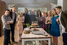 """Friends help Cassie surprise Sam - but he catches on and he's not thrilled about it. Will Cassie make it up to him? Good Witch, Season 3 - """"In Sickness and In Health"""" #goodies #hallmarkchannel"""