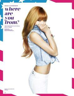 Hyuna aka Hyuna Kim (Hyuna, Trouble Maker, Wonder Girls, Dazzling Red, Triple H). Hyuna Hyunseung, Hyuna Kim, Pop Fashion, Asian Fashion, South Korean Girls, Korean Girl Groups, Hyuna Tumblr, Asian Woman, Asian Girl