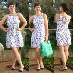 """LEILA DINIZ *blog: ♥VESTIDO hering que ganhou meu coração + bolsa """"os..."""