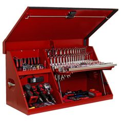 Extreme Portable Workstation Chest is a professional grade, high quality tool box Tool Organization, Tool Storage, Diy Storage, Garage Storage, Storage Ideas, Truck Storage, Mechanic Tool Box, Truck Tool Box, Truck Tools