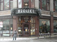 Café Riquet in Leipzig, Germany