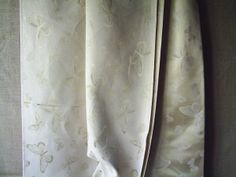 Gold butterfly fabric showing reverse colourway 280cm wide 9.80/meter!!