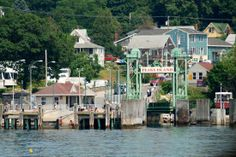 Peaks Island, just off of Portland Maine. (2011) Short ferry ride from the Old Port. Great day trip.