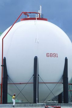 Natural Gas storage tank refinery in St. Croix   Wayne Eastep
