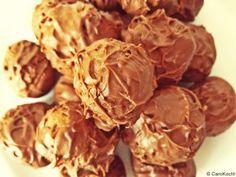 Homemade tonka bean truffles - great as a gift // Selbstgemachte Pralinen: Tonka-Trüffel