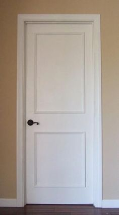 Upgrade plain, flat panel doors quickly and easily with our professional grade, patent pending door moulding kits with pre-applied adhesive! Perfect for interior, exterior and metal doors. Wall Moulding Panels, Wainscoting Panels, Door Molding, Moldings, Two Panel Doors, Raised Panel Doors, Door Panels, Exterior Doors, Interior And Exterior