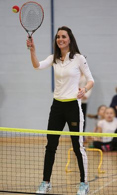 Kate Middleton style: Her $490 tennis workshop workout look in Scotland - HELLO! US