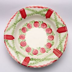 pal Teller, Plates, Tableware, Design, Red, Green, Tablewares, Licence Plates, Dishes