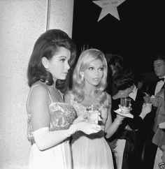 Annette and Nancy Sinatra, c. 1967.