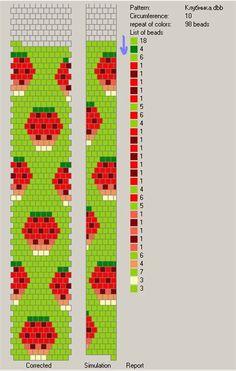 Wiring scheme of beads Kandi Patterns, Bead Crochet Patterns, Bead Crochet Rope, Beaded Jewelry Patterns, Peyote Patterns, Beading Patterns, Crochet Beaded Bracelets, Crochet Necklace, Brick Stitch