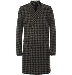 Pinning this to keep myself from buying... Paul Smith - Houndstooth Check Wool-Blend Coat | MR PORTER