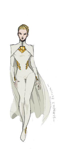 X-Men Pitch Week Pitch 4 'Mutant Empire' - Comic Watch Superhero Costumes Female, Superhero Suits, Superhero Characters, Superhero Design, Female Super Hero Costumes, Female Character Design, Character Design Inspiration, Character Concept, Character Art