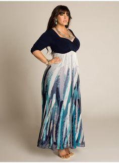 Dione Plus Size Maxi Dress