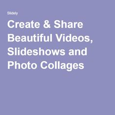 Slidely - The Visual Content Creation Platform, Maker of Promo Content, Create, Store, Videos, Larger, Shop