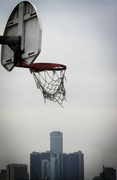 Street basket, with some friends, just for fun. Miss those days...