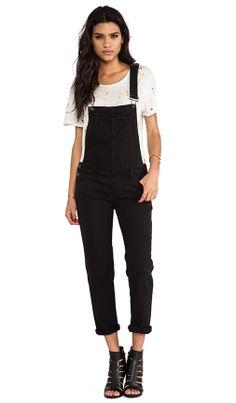 7d776decbdb1  Paige Denim black overalls Black Overalls Outfit