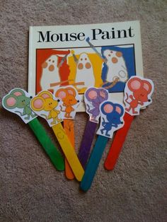 Tuesday: Colors - Mouse Paint