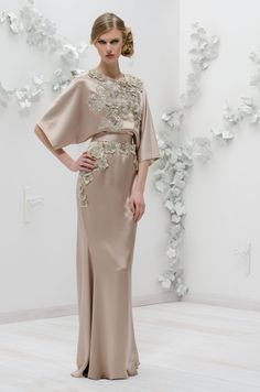 IsabelSanchis at  Elilhaam  FW2013 2014 Gala Gowns 5ef0afa95