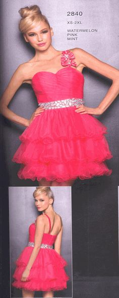 Homecoming DressSweet 16 Dress under $1002840Triple Treat!