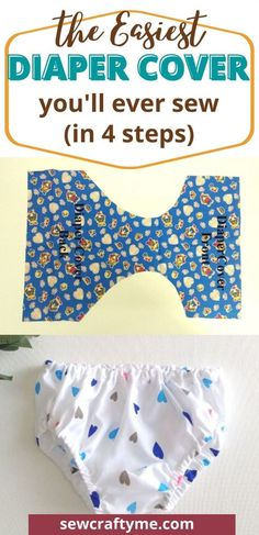 Free Diaper Cover Pattern, Free Pattern, Boys Sewing Patterns, Kids Patterns, Sewing Ideas, Crochet Patterns, Crochet Baby Booties, Hat Crochet, Blanket Crochet