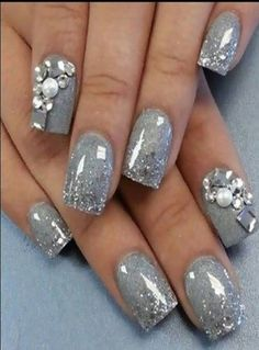 New to solar nails? Many people are which is why we've decided to give you all the details about solar nails, complete with design ideas! Fancy Nails, Cute Nails, Pretty Nails, Solar Nail Designs, Cute Nail Designs, Fabulous Nails, Gorgeous Nails, Perfect Nails, Hair And Nails