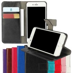 For iPhone 7 Case Cover Flip Wallet Fundas for iPhone 4 4s 5 5s SE 5C 6 6s 6 Plus 6s Plus 7 7 Plus Coque Fundas Etui Carcasas