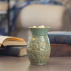 This warmer is simple and a perfect addition to your floral home feel.