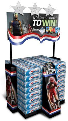 Pepsi Race Case Stacker by Ricky Cordero at Coroflot.com
