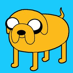 Step how to draw jake the dog finished color1 How to Draw Jake the Dog from Adventure Time on Cartoon Network with Easy Steps