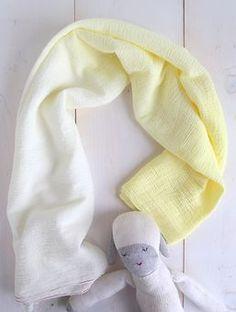 DIY Ombre Swaddle Blanket