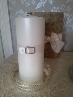 Belt to candle