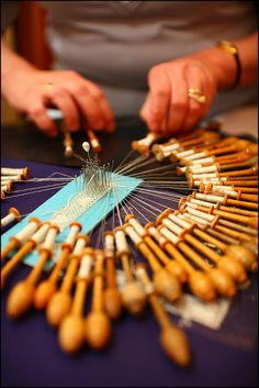 Bobbin Lace, Bruges(c)Michel Vaerewijck by visitflanders, via Flickr