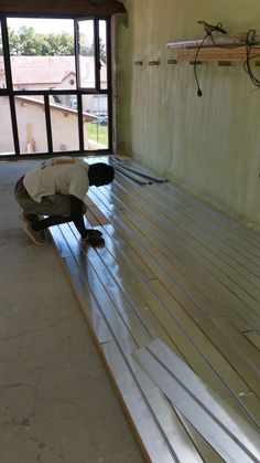 Mise en oeuvre pose plancher chauffant Lyon par DM Projets
