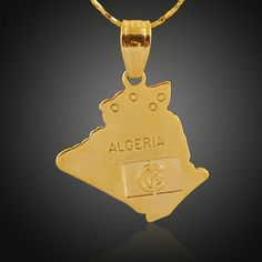 Copper Plated 18K Golden Country Map Theme Algeria Pendant for Necklace Bracelets Women Shinning Accessories Wholesale  http://www.dhgate.com/product/copper-plated-18k-golden-country-map-theme/391216225.html